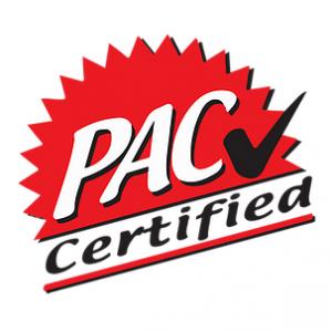 PAC certified