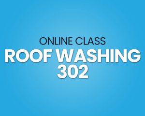 roof washing training