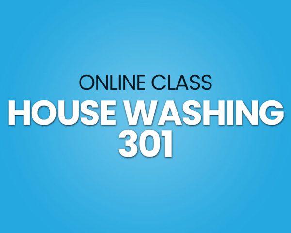 house washing training