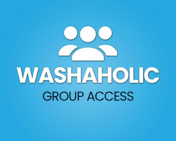 Washaholic Group Access